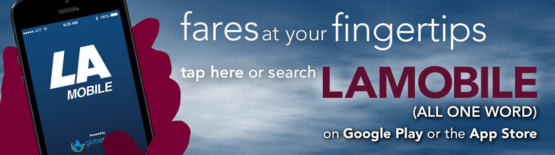 Fares at Your Fingertips - Download LA Mobile Now